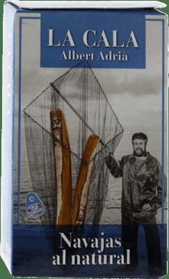 14,95 € Envoi gratuit | Conservas de Marisco La Cala Navajas al Natural Espagne 6/8 Pièces