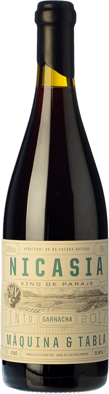 21,95 € Free Shipping | Red wine Máquina & Tabla Nicasia D.O. Toro Castilla y León Spain Tempranillo, Grenache Bottle 75 cl