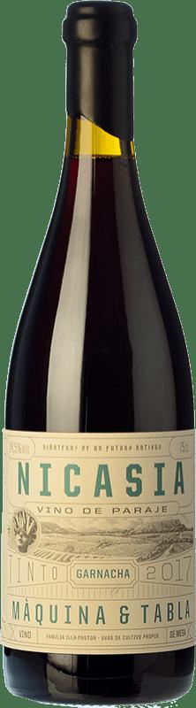 21,95 € Envío gratis | Vino tinto Máquina & Tabla Nicasia D.O. Toro Castilla y León España Tempranillo, Garnacha Botella 75 cl