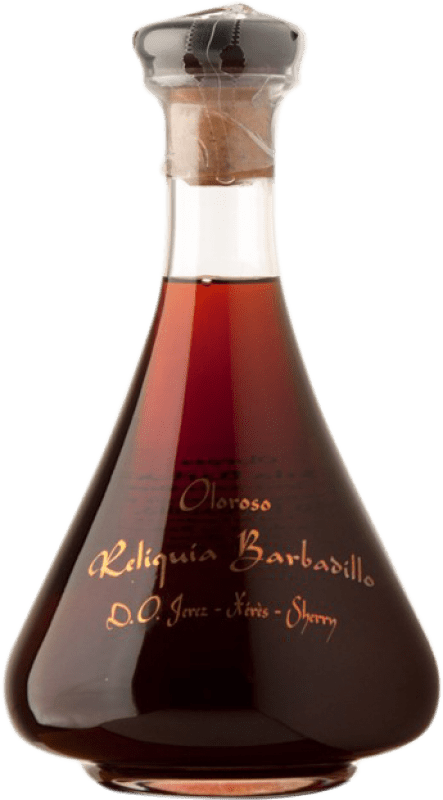 1 054,95 € Free Shipping | Fortified wine Barbadillo Oloroso Reliquia D.O. Jerez-Xérès-Sherry Andalusia Spain Palomino Fino Bottle 75 cl