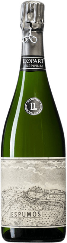 53,95 € Free Shipping | White sparkling Llopart Original 1887 Brut Nature 2008 Corpinnat Spain Monastrell, Macabeo, Xarel·lo Bottle 75 cl
