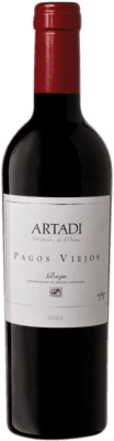 51,95 € | Red wine Artadi Pagos Viejos 2004 D.O. Navarra Navarre Spain Tempranillo, Viura Half Bottle 37 cl