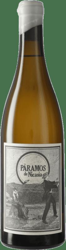 11,95 € Envío gratis | Vino blanco Máquina & Tabla Páramos de Nicasia D.O. Rueda Castilla y León España Verdejo Botella 75 cl