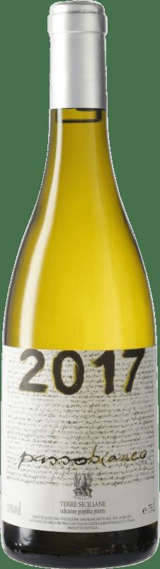 34,95 € Free Shipping | White wine Passopisciaro Passobianco I.G.T. Terre Siciliane Sicily Italy Chardonnay Bottle 75 cl