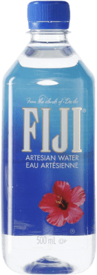 3,95 € Envío gratis | Agua Fiji Artesian Water PET Fiyi Botella Medium 50 cl