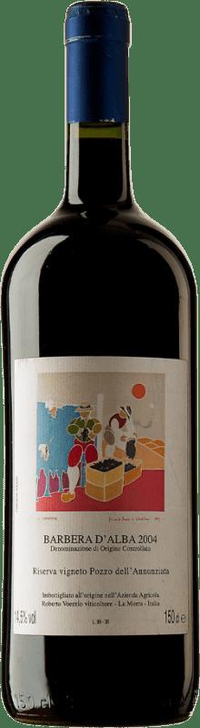 569,95 € Free Shipping | Red wine Roberto Voerzio Pozzo dell'Annunziatta 2004 D.O.C. Barbera d'Alba Piemonte Italy Barbera Magnum Bottle 1,5 L