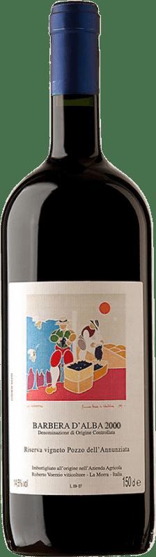 509,95 € Free Shipping | Red wine Roberto Voerzio Pozzo dell'Annunziatta 2000 D.O.C. Barbera d'Alba Piemonte Italy Barbera Magnum Bottle 1,5 L