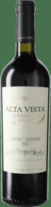 13,95 € Envoi gratuit | Vin rouge Altavista Premium I.G. Mendoza Mendoza Argentine Cabernet Sauvignon Bouteille 75 cl