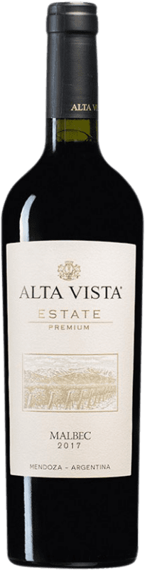 13,95 € | Red wine Altavista Premium I.G. Mendoza Mendoza Argentina Malbec Bottle 75 cl