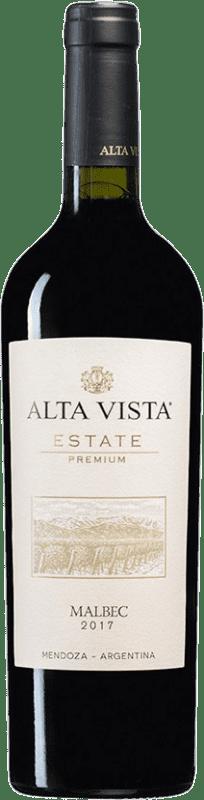 13,95 € Envoi gratuit | Vin rouge Altavista Premium I.G. Mendoza Mendoza Argentine Malbec Bouteille 75 cl