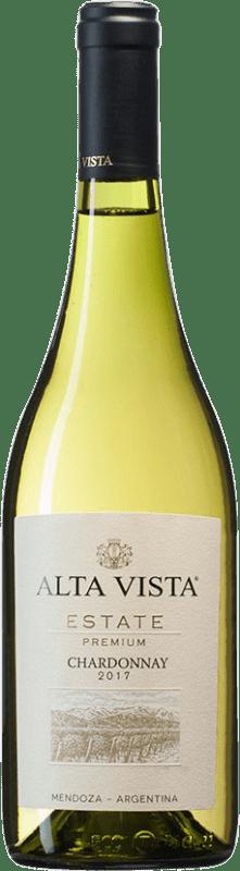 13,95 € Envoi gratuit | Vin blanc Altavista Premium I.G. Mendoza Mendoza Argentine Chardonnay Bouteille 75 cl
