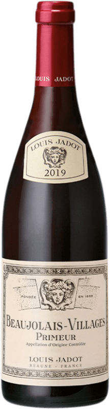 9,95 € | Red wine Louis Jadot Primeur A.O.C. Beaujolais-Villages Burgundy France Gamay Bottle 75 cl