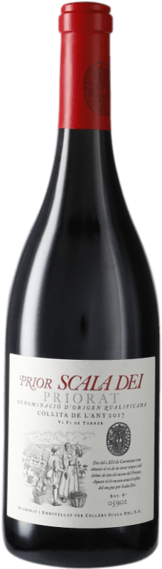 21,95 € Envío gratis | Vino tinto Scala Dei Prior Crianza D.O.Ca. Priorat Cataluña España Syrah, Garnacha, Cabernet Sauvignon, Cariñena Botella 75 cl