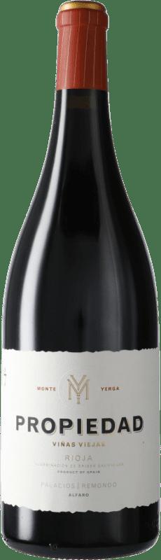 56,95 € Envío gratis | Vino tinto Palacios Remondo Propiedad D.O.Ca. Rioja España Garnacha Botella Mágnum 1,5 L