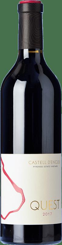 43,95 € Envoi gratuit | Vin rouge Castell d'Encús Quest D.O. Costers del Segre Espagne Cabernet Sauvignon, Cabernet Franc, Petit Verdot Bouteille 75 cl