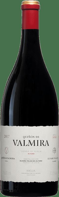 1 405,95 € Envío gratis | Vino tinto Palacios Remondo Quiñón de Valmira D.O.Ca. Rioja España Garnacha Botella Mágnum 1,5 L