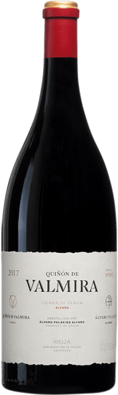 1 771,95 € Envío gratis | Vino tinto Palacios Remondo Quiñón de Valmira D.O.Ca. Rioja España Garnacha Botella Jéroboam-Doble Mágnum 3 L