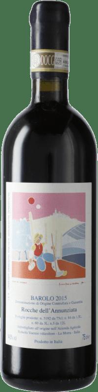 364,95 € Free Shipping | Red wine Roberto Voerzio Rocche Dell'Annunziata Torriglione D.O.C.G. Barolo Piemonte Italy Nebbiolo Bottle 75 cl