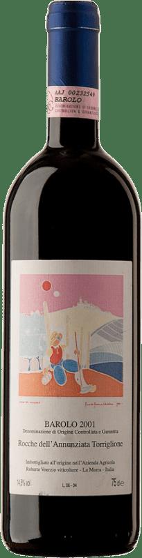 364,95 € Free Shipping | Red wine Roberto Voerzio Rocche 2001 D.O.C.G. Barolo Piemonte Italy Nebbiolo Bottle 75 cl