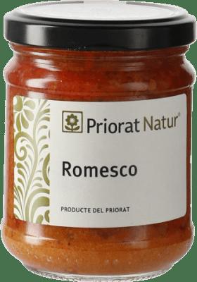 6,95 € Envío gratis | Salsas y Cremas Priorat Natur Romesco España