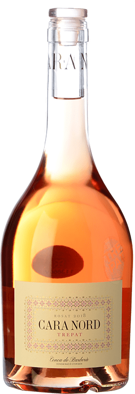 9,95 € Free Shipping | Rosé wine Cara Nord Rosat D.O. Conca de Barberà Catalonia Spain Trepat Bottle 75 cl