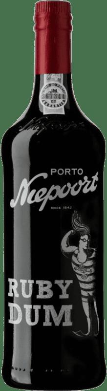 13,95 € Free Shipping | Red wine Niepoort Ruby Dum I.G. Porto Porto Portugal Touriga Franca, Touriga Nacional, Tinta Roriz Bottle 75 cl