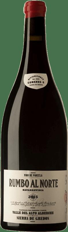 316,95 € 免费送货 | 红酒 Comando G Rumbo al Norte I.G.P. Vino de la Tierra de Castilla y León 卡斯蒂利亚莱昂 西班牙 Grenache 瓶子 Magnum 1,5 L