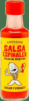 2,95 € Envío gratis | Salsas y Cremas Espinaler Salsa Aperitivo España Botellín 10 cl