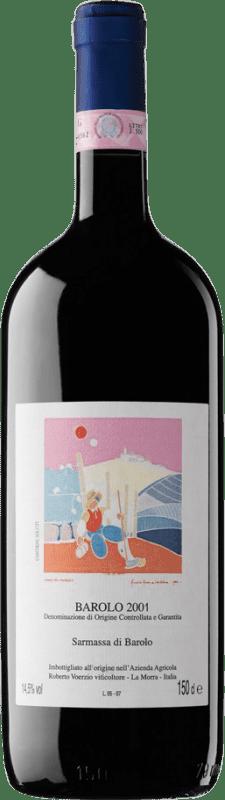 374,95 € Free Shipping | Red wine Roberto Voerzio Sarmassa 2001 D.O.C.G. Barolo Piemonte Italy Nebbiolo Magnum Bottle 1,5 L