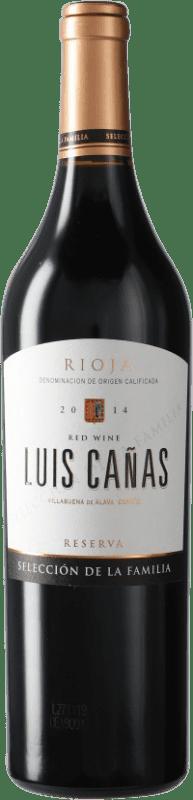 19,95 € Free Shipping | Red wine Luis Cañas Selección de la Familia Reserva D.O.Ca. Rioja Spain Bottle 75 cl