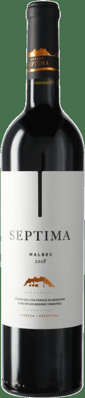 12,95 € | Red wine Séptima Séptima I.G. Mendoza Mendoza Argentina Malbec Bottle 75 cl