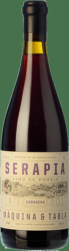 21,95 € Envío gratis | Vino tinto Máquina & Tabla Serapia I.G.P. Vino de la Tierra de Castilla y León Castilla y León España Garnacha Botella 75 cl