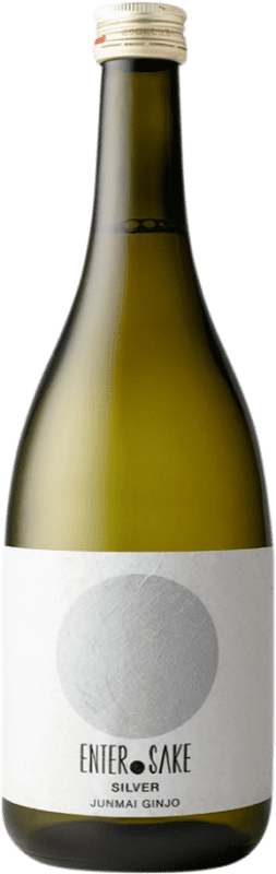 34,95 € 免费送货 | 清酒 Enter Sake Silver New 日本 瓶子 72 cl