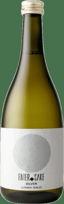 34,95 € Envío gratis | Sake Enter Sake Silver New Japón Botella 72 cl