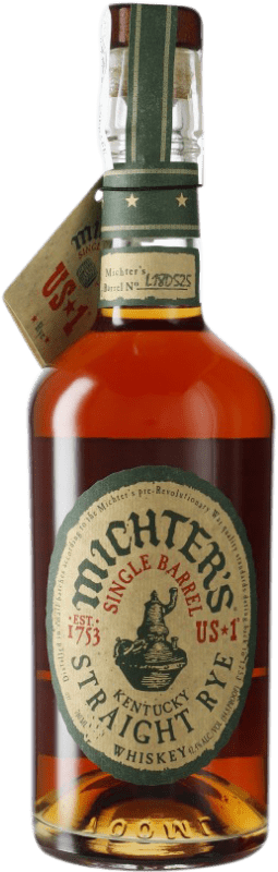 62,95 € Free Shipping | Bourbon Michter's American Single Barrel Rye Kentucky United States Bottle 70 cl