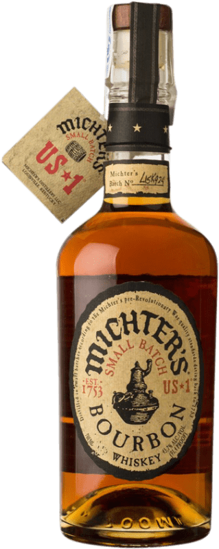 62,95 € Free Shipping | Bourbon Michter's American Small Batch Kentucky United States Bottle 70 cl