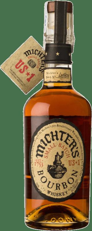 62,95 € 免费送货   波旁酒 Michter's American Small Batch 肯塔基 美国 瓶子 70 cl