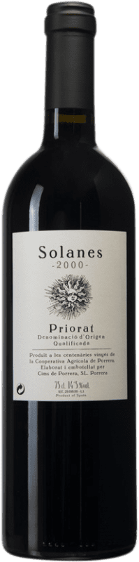 41,95 € | Red wine Cims de Porrera Solanes 2000 D.O.Ca. Priorat Catalonia Spain Bottle 75 cl