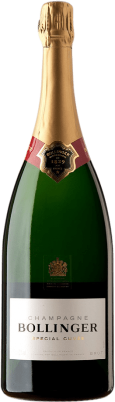 117,95 € | White sparkling Bollinger Special Cuvée Brut A.O.C. Champagne Champagne France Pinot Black, Chardonnay, Pinot Meunier Magnum Bottle 1,5 L