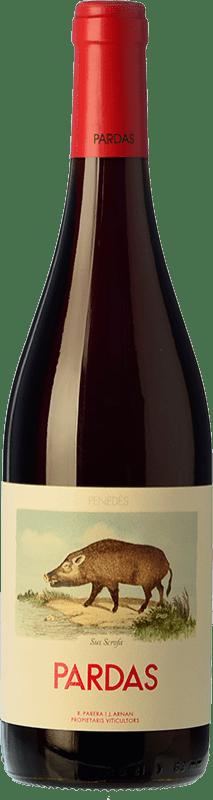 9,95 € | Red wine Pardas Sus Scrofa D.O. Penedès Catalonia Spain Bottle 75 cl