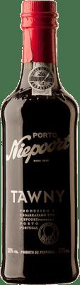 6,95 € Free Shipping | Red wine Niepoort Tawny I.G. Porto Porto Portugal Touriga Franca, Touriga Nacional, Tinta Roriz Half Bottle 37 cl