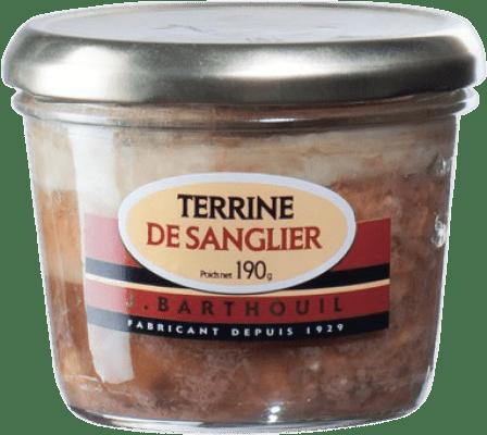 4,95 € Free Shipping | Foie y Patés J. Barthouil Terrina Sanglier France