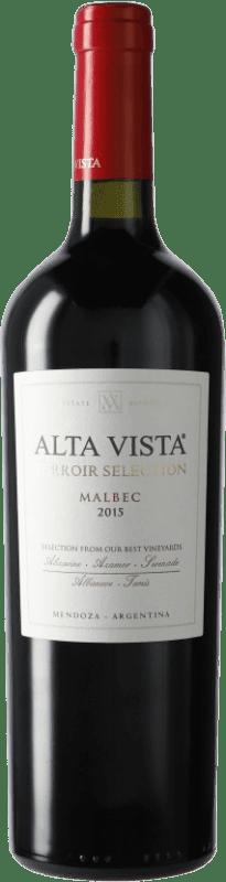 19,95 € Envoi gratuit | Vin rouge Altavista Terroir Selection I.G. Mendoza Mendoza Argentine Malbec Bouteille 75 cl
