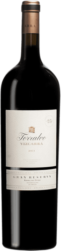 329,95 € Envoi gratuit | Vin rouge Vizcarra Torralvo Gran Reserva D.O. Ribera del Duero Castille et Leon Espagne Tempranillo Bouteille Magnum 1,5 L