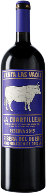 82,95 € 免费送货 | 红酒 Vizcarra Venta las Vacas Finca La Cuartilleja Reserva D.O. Ribera del Duero 卡斯蒂利亚莱昂 西班牙 Tempranillo 瓶子 Magnum 1,5 L