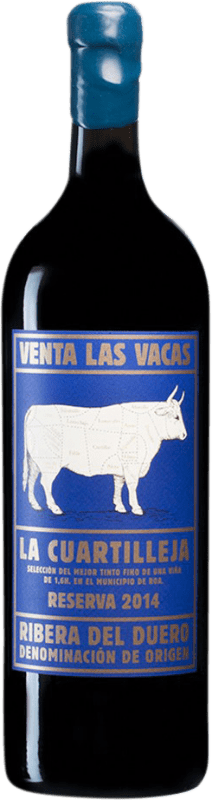 158,95 € Envoi gratuit | Vin rouge Vizcarra Venta las Vacas Finca La Cuartilleja Reserva D.O. Ribera del Duero Castille et Leon Espagne Tempranillo Bouteille Jéroboam-Doble Magnum 3 L