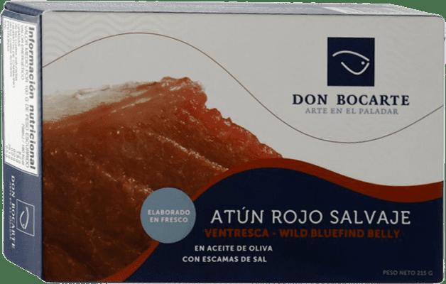 33,95 € 免费送货 | Conservas de Pescado Don Bocarte Ventresca de Atún Rojo 西班牙