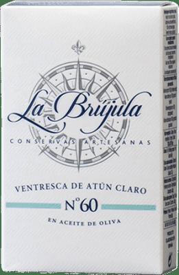 5,95 € 免费送货 | Conservas de Pescado La Brújula Ventresca de Atún 西班牙