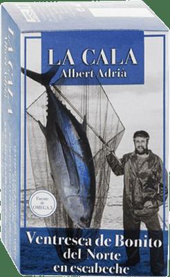 15,95 € Envoi gratuit | Conservas de Pescado La Cala Ventresca de Bonito en Escabeche Espagne