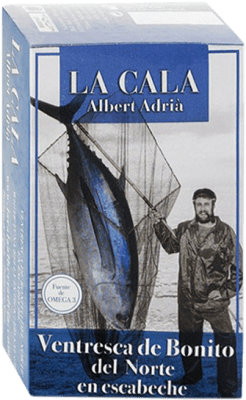 14,95 € Free Shipping | Conservas de Pescado La Cala Ventresca de Bonito en Escabeche Spain